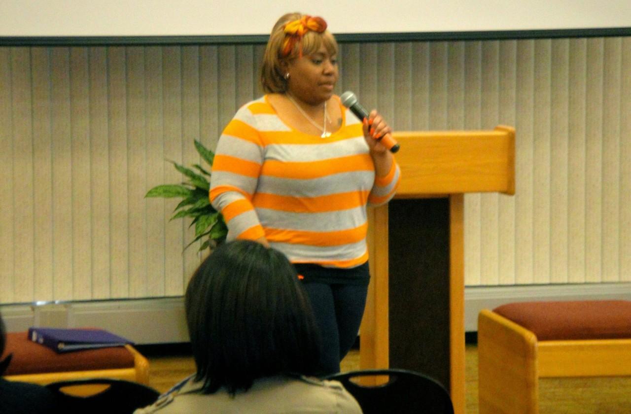 Spoken Word at the AFST Health & Hip Hop Conference, 2013