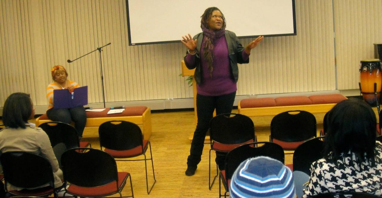 Spoken Word at Health & Hip Hop Conference