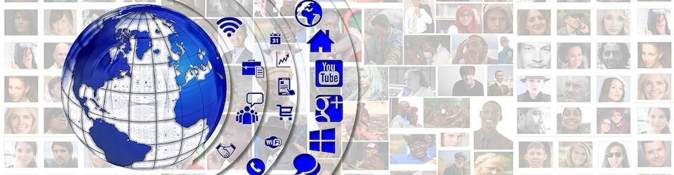 Image of communication icons