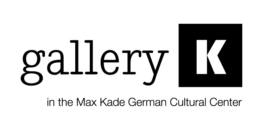 "Banner image that says ""gallery K in the max kade german cultural center"""