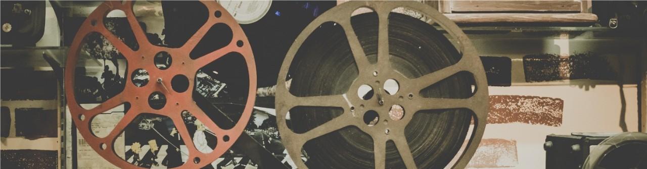 Banner image of film reel